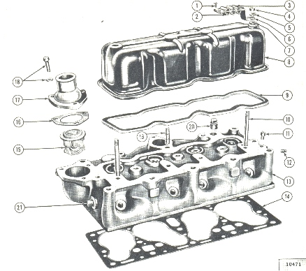 1945 willys jeep engine diagrams