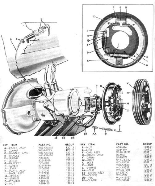 Parts Illustrations on diagram of a cj2a willys engine