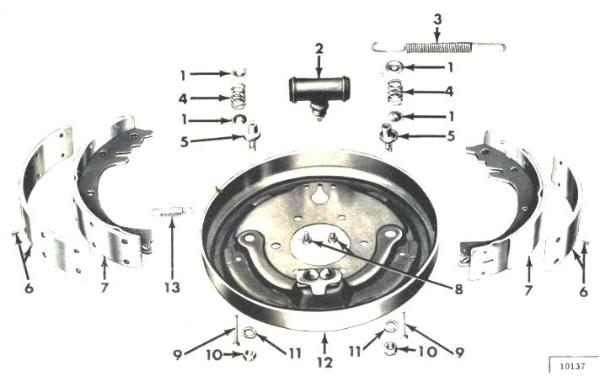 willys jeep parts diagrams illustrations from midwest jeep willys rh midwestjeepwillys com CJ5 EZ Wiring 76 Jeep CJ5 Distributor Wiring